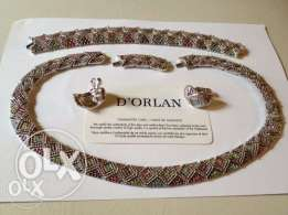 SILVER set -- D'orlan paris -- 3 pieces made in canada