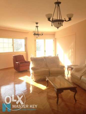 A Sunny classy apartment in Zamalek For rent