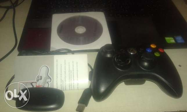 Microsoft original Xbox 360 Controller + Wireless Adapter for windows