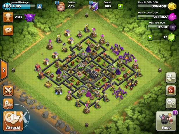 Clash of clans game 6 أكتوبر -  3