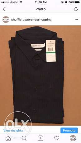 calvin klein original shirt from america large slim fit for 600 LE