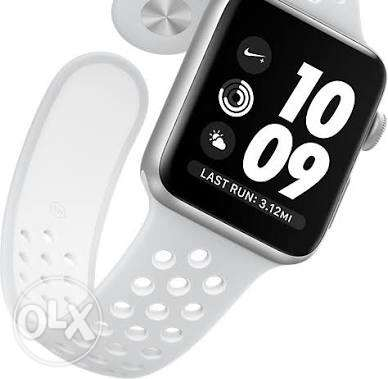 apple watch 2 Nike 42mm white aluminum