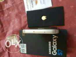 Galaxy s7 gold 32g good condition