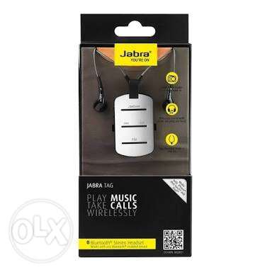 Original jabra tag Bluetooth set بدوووون فصاااااال
