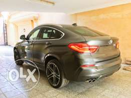 BMW X4 2017, Grey & saddle brown interiors