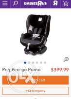 peg perego carseat from USA