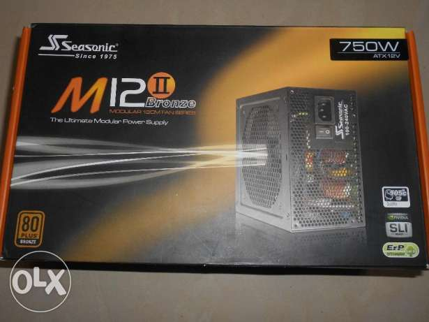 Seasonic M12II 750W 80 PLUS Bronze Semi Modular PSU