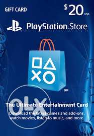 20$ PSN US CODE for sale