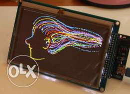 """7"""" Colored TFT Touch LCD Module لمشاريع التخرج"""