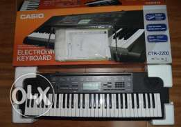 casio CTK 2200 keyboard (no scratch)