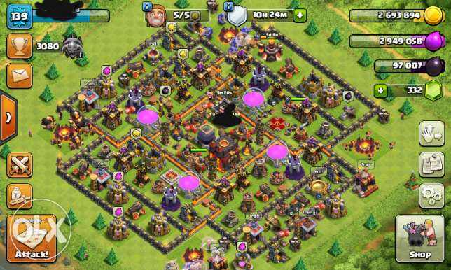 Max th10 king 31 queen 30