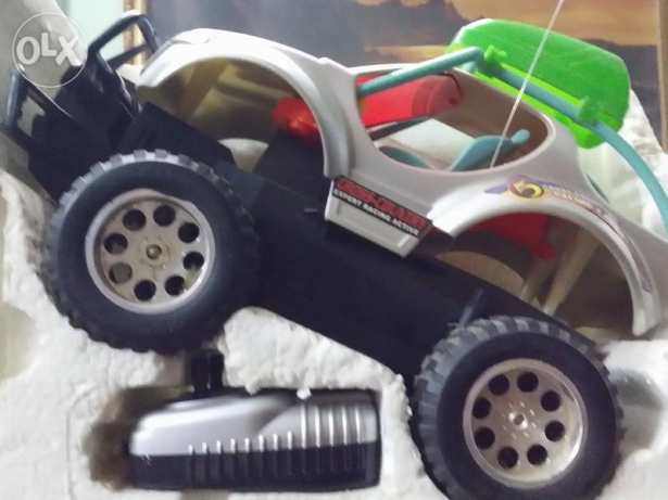 Cross Col. Monster Racing Car with Remote Control