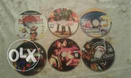 Play station 1 / 6 cds