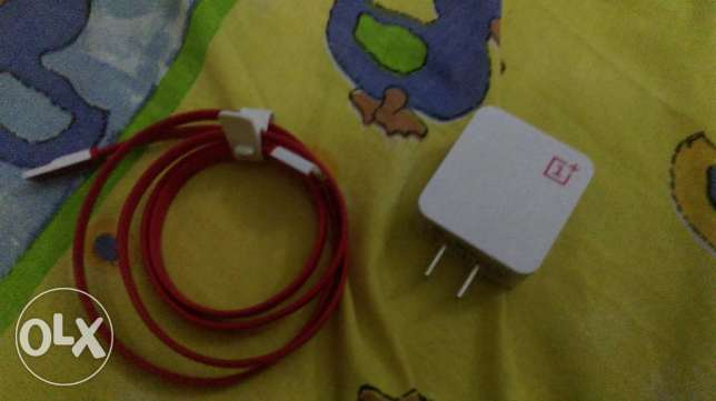 Original oneplus charger (cable+adapter)