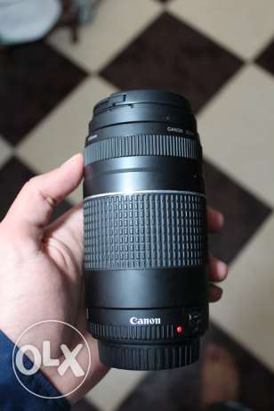 Lens 75-300 canon from Amercia