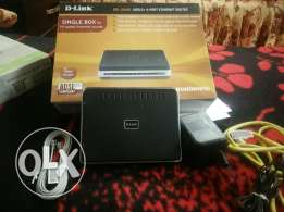 Router dlink 4port