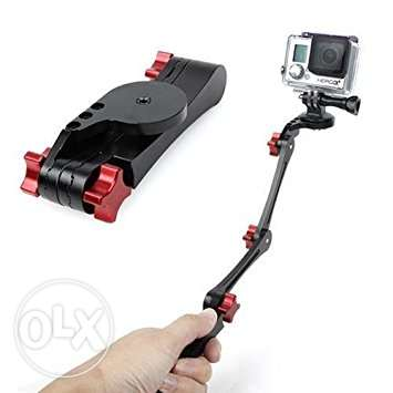 Aluminum Folable Pocket Stabilizer Grip Monopod For GoPro Hero 5,4,3