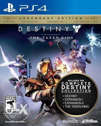 "New and sealed Destiny the taken king ""Legendary Edition"" PS4"