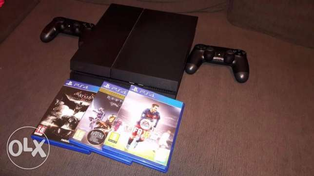 PlayStation 4 Sony for Sale - PS4 حدائق الاهرام -  3