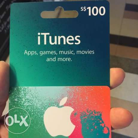 iTunes Gift Card Amount 100$