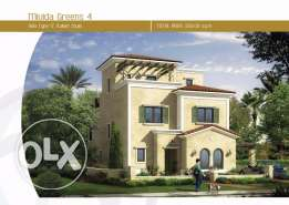 villa 356 m for sale in mivida new Cairo