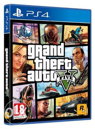 GTA 5 for Ps4