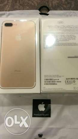 Apple iPhone 7 plus 32 gold and black ترسا -  3