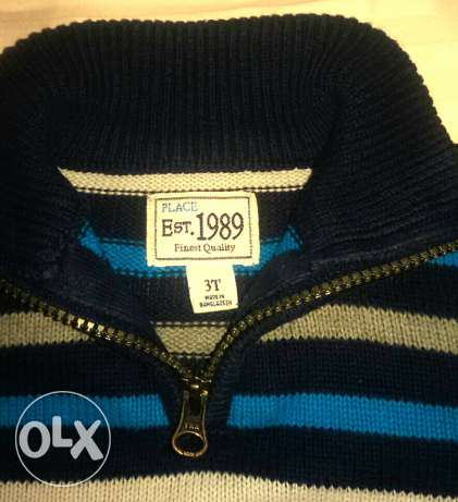 Children's place wool pullover from USA مصر الجديدة -  2