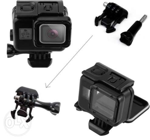 GoPro Hero 5 Diving House With Touch Screen* Black Dark * New