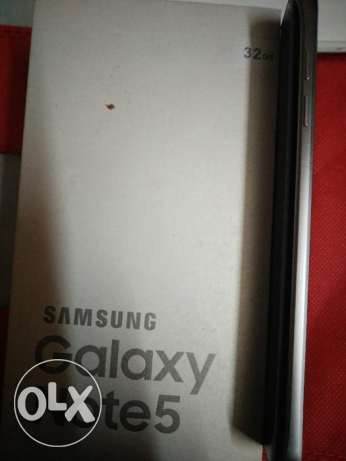 Galaxy note 5 32g blue used for one.month with box مصر الجديدة -  7