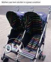 Mother care twin stroller in agreat condition