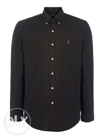 original ralph lauren black shirt from america size large and xlarge