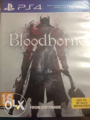 ps4 BloodBorne in a perfect condition