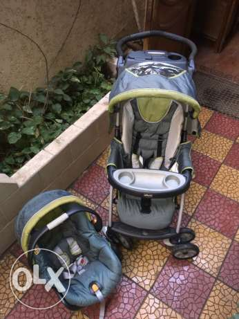 Stroller and Car seat SET الزمالك -  7