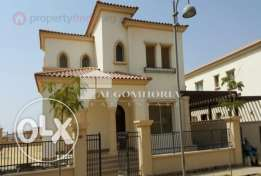 villa for rent uptown cairo .