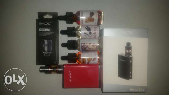 Smok Micro One Red Vape With built In Batteries