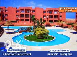 SS-75- Apartment for Sale in Resort - Nabq Bay / شقه للبيع بشرم الشيخ