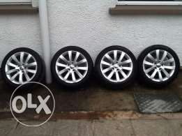 17 جنوط/inch scriocco rims for sale with tyres