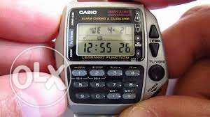 CASIO Men's Quartz Wrist Remote Control