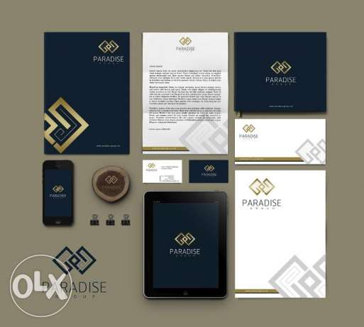 16 سنة براندنج Corporate Identity + Logo Design