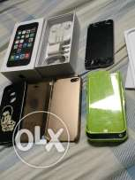 iphone 5s 32Giga Gray international withbox and all acc