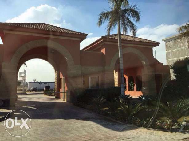 For sale villa stand alone at shorouk oasis compound land 1350 ssqm