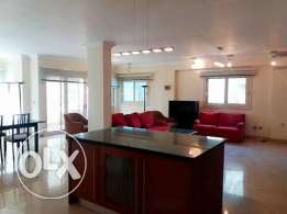 An ultra modern fully furnished apt in Maadi Sarayat for rent $1800/m