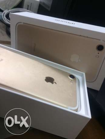Iphone 7 new gold 32