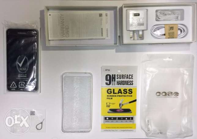 Samsung Galaxy A7 2016 + Screen Protector + cover