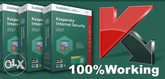 Kaspersky antivirus with secuirty solution 2017 + license code 2 years