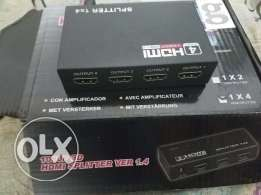Hdmi splitter 4 outputs