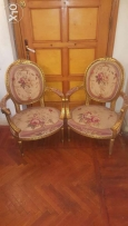 Pair of French aubusson