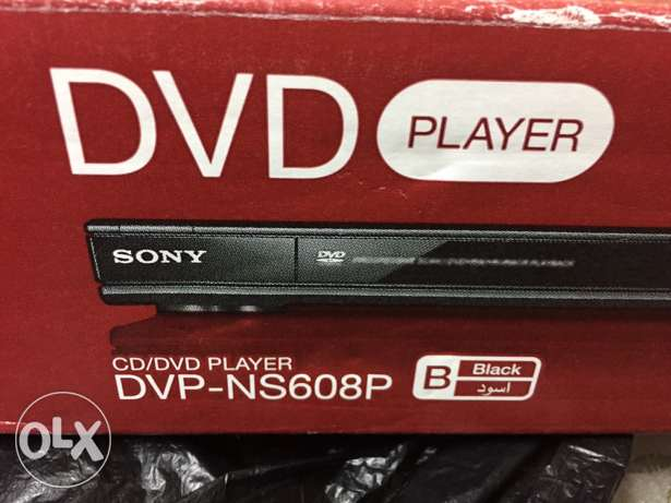 DVD player Sony new made in Malaysia دي في دي سوني صناعة ماليزيا