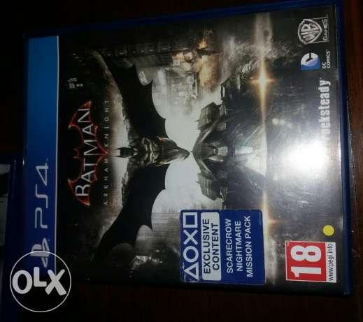 batman arkham night ps4 الإسكندرية -  1